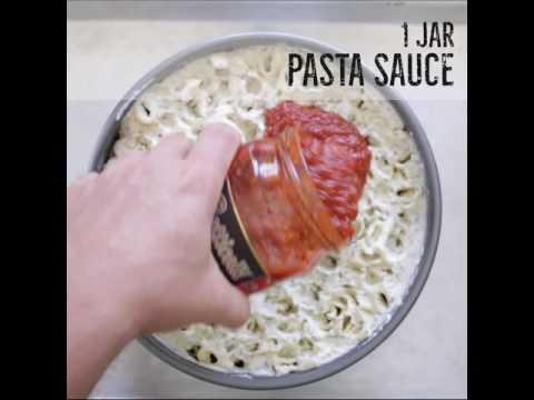 Lasagna Rigatoni Pie