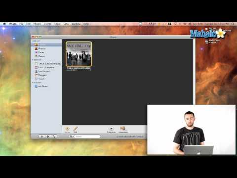 How to Make a Web Page Using iPhoto