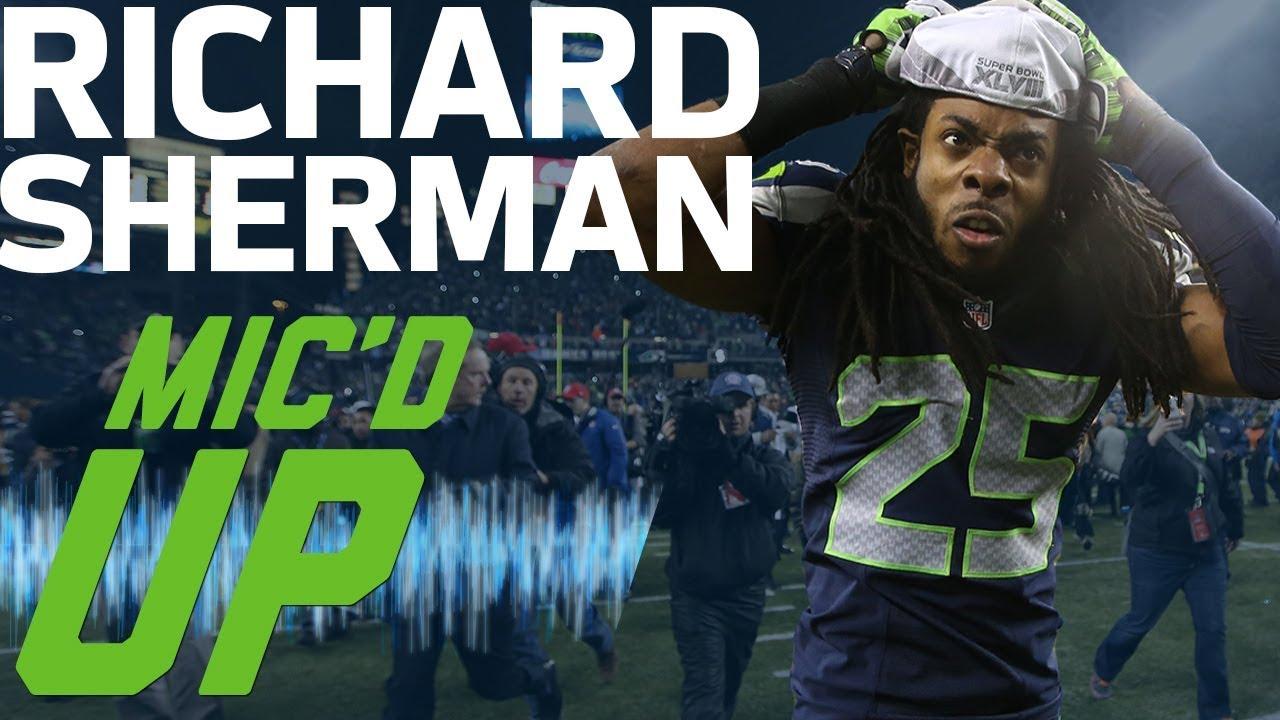 Richard Sherman's Best Mic'd Up Moments (Up to Super Bowl XLVIII) | Sound FX | NFL Films