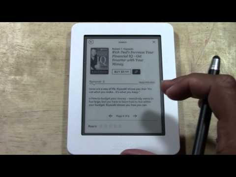 Kobo Mini-How to Download Books​​​ | H2TechVideos​​​