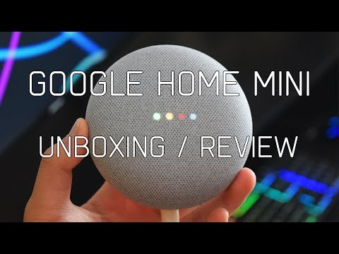 Google Home Mini Unboxing / Review
