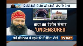 Ahead Of Haryana Police Search Operation, India Tv Reveals Inner Sights Of Ram Rahim