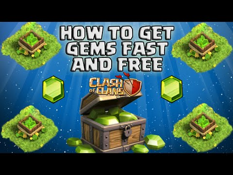 HOW TO GET FREE GEMS IN CLASH OF CLANS! THE TRUTH! + FUNNY MAX BALLOON ATTACK]