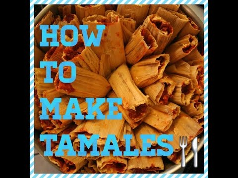EASIEST MEXICAN PORK TAMALES OR JALAPENO/ CHEESE TAMALES