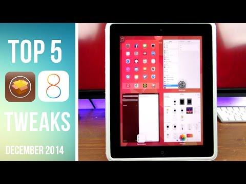 Top 5 iOS 8 Cydia Tweaks of the Week! | December 2014 #1