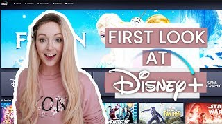 DISNEY+ EARLY ACCESS!! First Look At Disney Plus Streaming Service | Denise Joanne