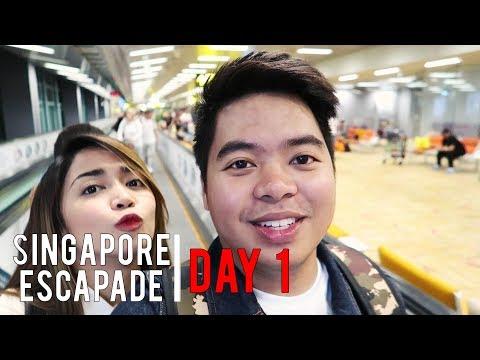 Singapore Escapade - Day 1 | Matt Nicolai & Riva Quenery - VLOG # 3