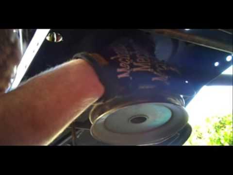 Bolens Riding Mower Drive Belt Replacement