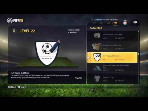 FIFA 15 | How to change your club name in ultimate team FUT15