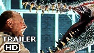 Jurassic World 2 International Trailer 2018 Chris Pratt Action Movie Hd