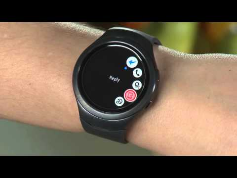 Samsung Gear S2 (SM-R720) - Messaging on Your Gear S2