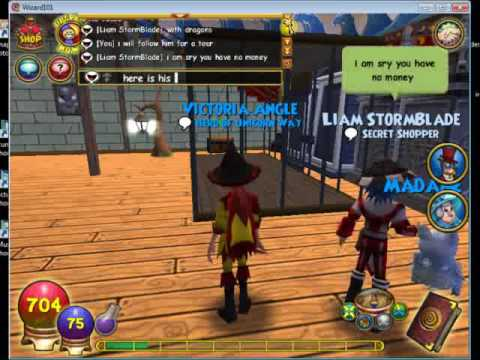 liam wizard101 house