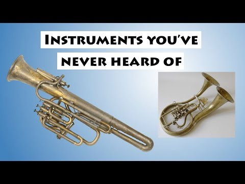 5 Brass Instruments You've Never Heard Of...