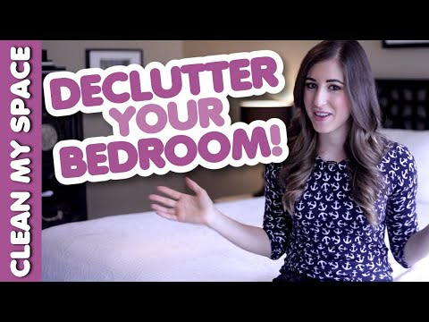 5 Bedroom Decluttering Tips! Easy & Quick Ideas for How to Clean & Organize (Clean My Space)
