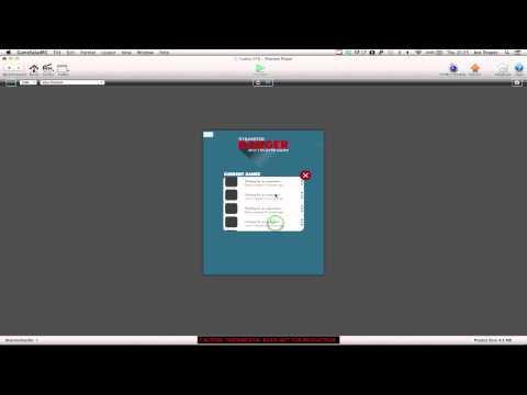 Developing GameSalad Multiplayer Game - Video 10 - Updating game lobby menu