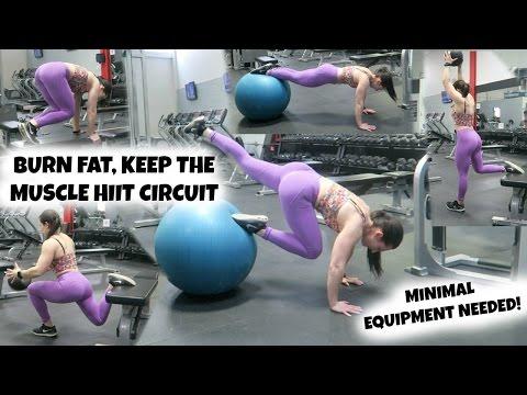 Burn FAT, Keep The MUSCLE | 4 Total Body, Minimal Equipment HIIT Circuits