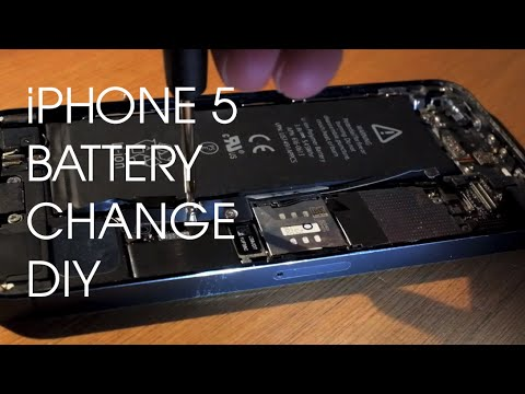 How to change your iPhone 5 Battery