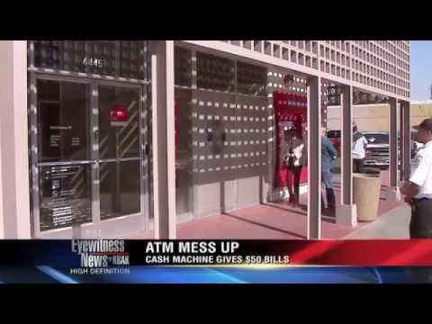 Bank of America ATM hands out free money
