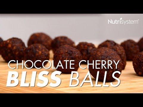 Chocolate Cherry Bliss Balls