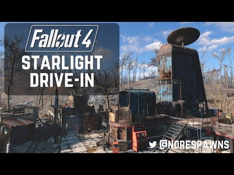 Fallout 4 - Starlight Drive-In Detailed Tour