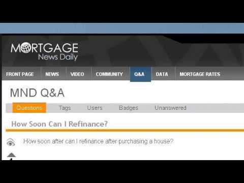 How Soon Can I Reapply For A Mortgage Refinance?