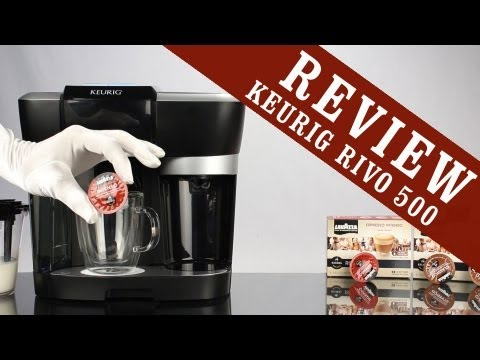 Keurig Rivo Review - Cappuccino & Latte Brewing System R500