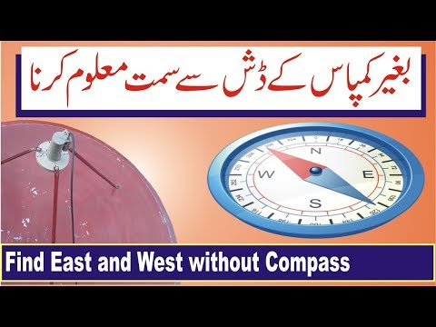 How to Find East and West Direction Without Compass