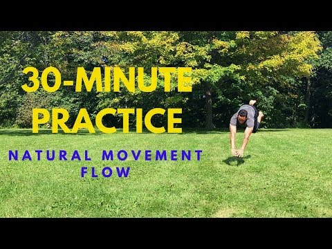 30-minute MovNat Workout: Find Your State of Flow