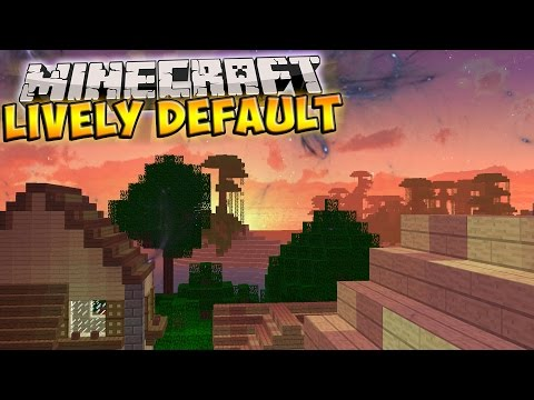 Minecraft Resource Pack | LIVELY DEFAULT - Greener Grass, Custom Sky,  Clear Water, and More!