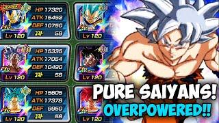 6 Transforming SSB Goku in one team?! DBZ Dokkan Battle
