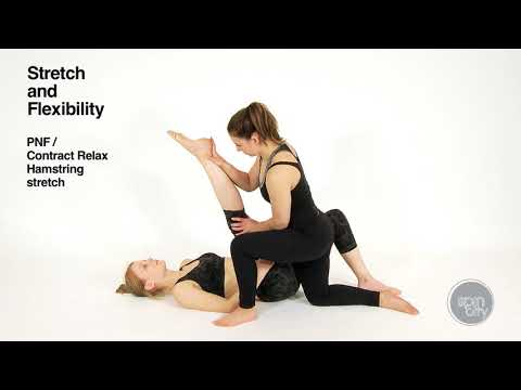 Spin City - Stretching and Flexibility for Pole and Aerial Online Training Course - Example Video