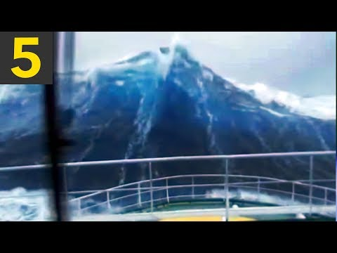 5 BIG Waves You Wouldn't Believe if not on video