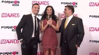 PornDoe Premium interview with Keiran Lee and Toni Ribas @ the AVN Awards 2016