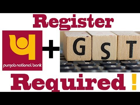 Register GSTIN With PNB acccount Using Internet Banking To Get Input Tax Credit