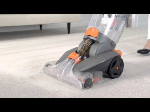 VAX Dual Power Pro carpet cleaner: How to use