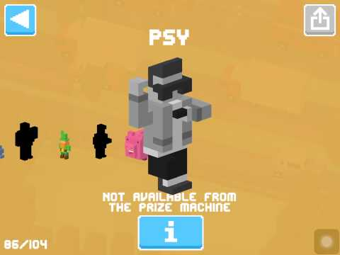 CROSSY ROAD Korean Update | Psy Gangnam Style & 9 New Characters! What's New?!  (Android, iOS)