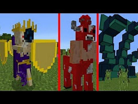 Minecraft PE: MOD DO TWILIGHT FOREST PRA MCPE 1.0.2 - MODS «PolarMCPE»
