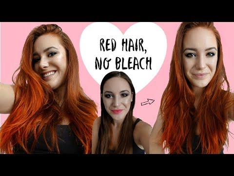 How To Dye Hair Red Without Bleach | Arctic Fox Vegan Hair Dye Review