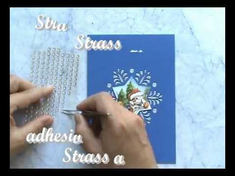 Kerst kaart Sneeuwvlok / Christmas card snowflake