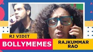 Bollymemes with Rajkummar Rao | Mirchi Vidit | Radio Mirchi