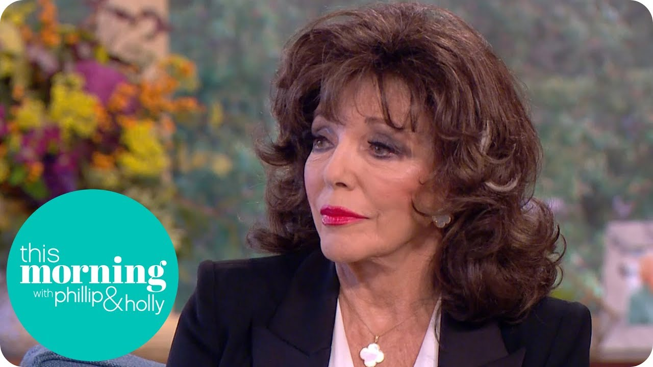Joan Collins: 'Marilyn Monroe Warned Me About the Wolves in Hollywood'   This Morning