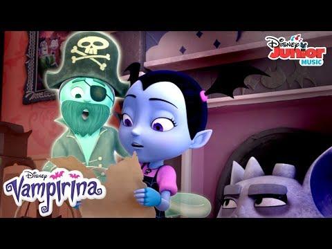 Back Where a Pirate Belongs   Music Video   Vampirina   Disney Junior
