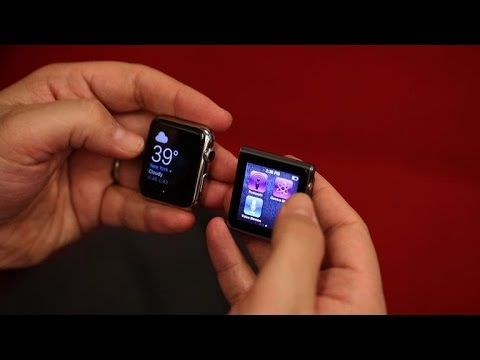 Apple Watch vs iPod Nano watch: Comparing Apple's two watches, four years apart
