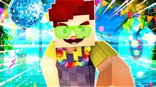 HELLO NEIGHBOR - OUR CHILL NEW NEIGHBOR!? NAMASTE HERE FOREVER! (MInecraft Roleplay)