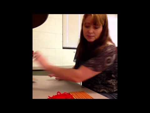 Weaving a Bag pt 3