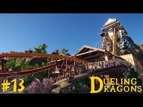 Dueling Dragons | Japanese Planet Coaster Timelapse! #13 [FINAL]