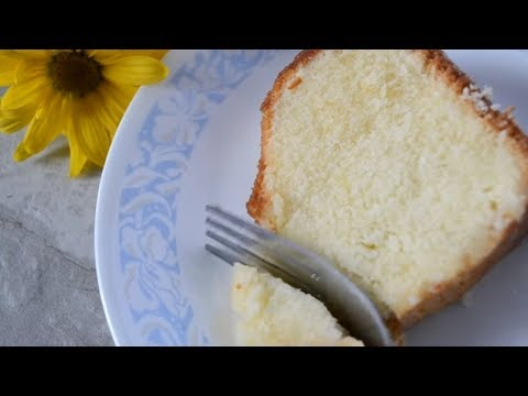 How to Make 7 Up Pound Cake from Scratch!