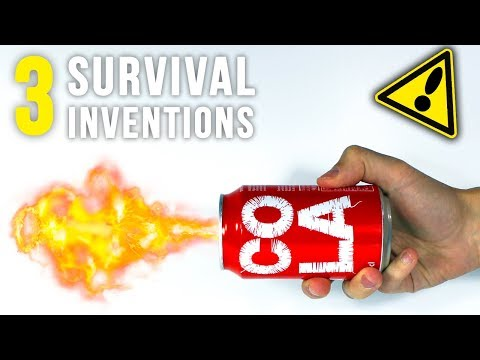 3 SURVIVAL INVENTIONS THAT COULD SAVE YOUR LIFE