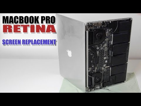 How to replace screen on Retina MacBook Pro 15