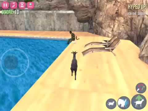 How to unlock hitchhiker goat in goat simulator